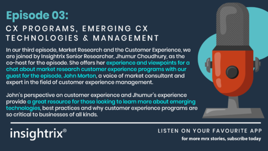 Podcast Episode 3 - CX Programs, Emerging CX, Technologies and Management