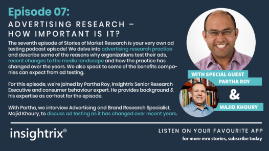 Podcast Episode 07 - Advertising Research - How Important is it?
