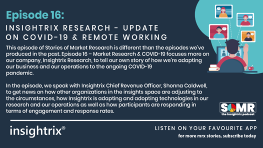 Podcast Episode 16 - Insightrix Research Update on COVID-19 and Remote Working