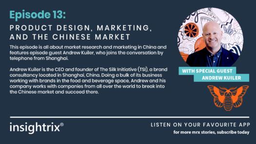 Podcast Episode 13 - Product Design, Marketing, Chinese Market