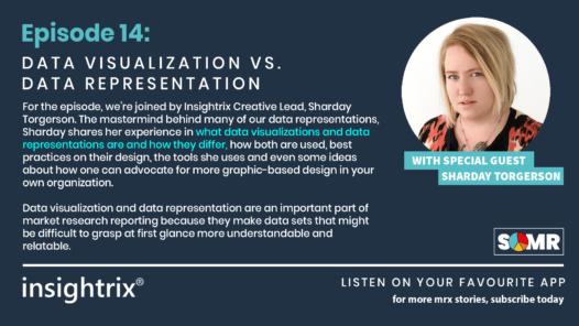 Podcast Episode 14 - Data Visualization versus Data Representation