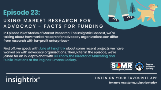 Podcast Episode 23 - Using Market Research for Advocacy - Facts for Funding